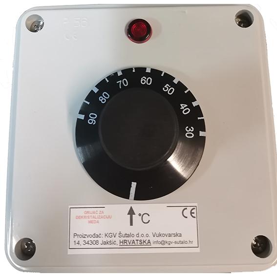 Analogni termostat grijača za med